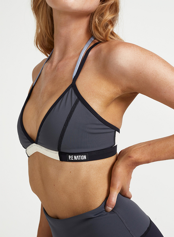 Cross Header Sports Bra
