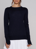 Performance Crew Neck - Navy