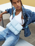 Puff Shoulder Bag - Ice