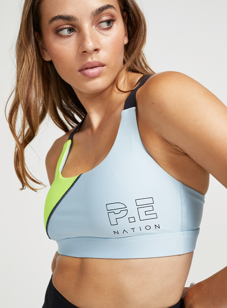 Twist Serve Sports Bra