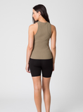 Everyday Knit Tank - Olive