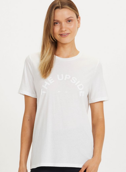 The Upside Tee White