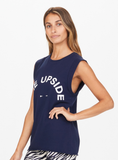 Muscle Tank - Navy