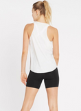 Racer Back Tank - White