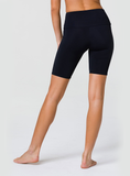 High rise Mini Biker Short - Black