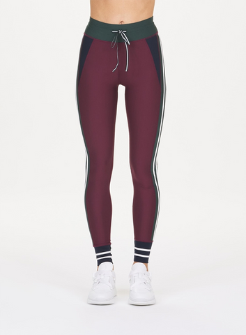 Heritage Yoga Pant - Red