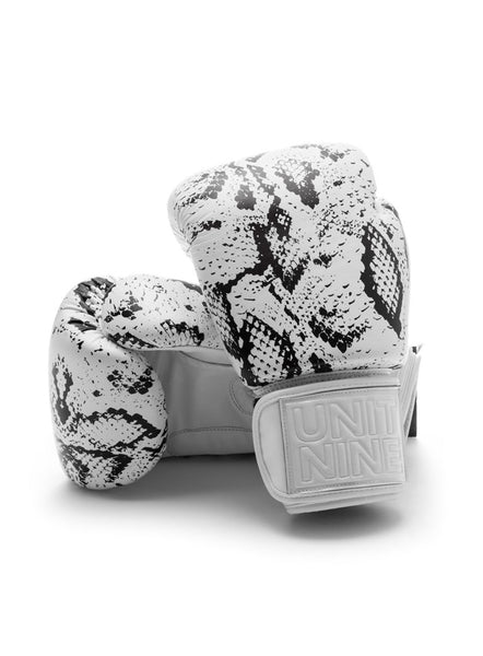 Boxing Gloves White Python