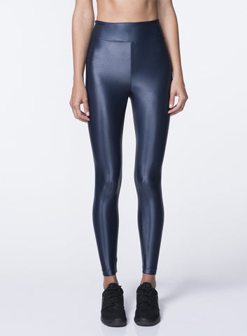 Lustrous High Rise Legging Midnight