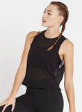 Make Me Groove Tank - Black