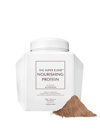 NOURISHING PROTEIN CACAO 300G WHITE CADDY