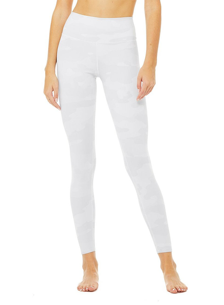 High Waist Vapor Legging - White Camo
