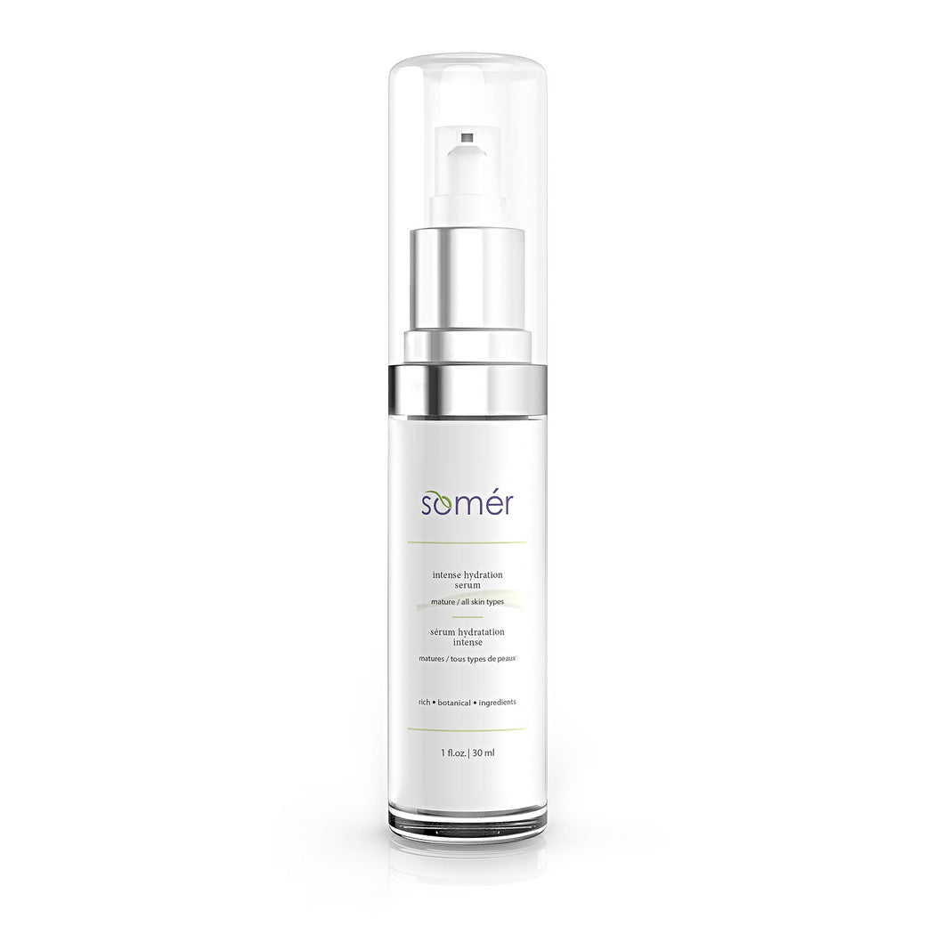 Lightweight and powerful. Intense Hydration Serum is ideal for all skin types who desire an extreme boost of hydration.