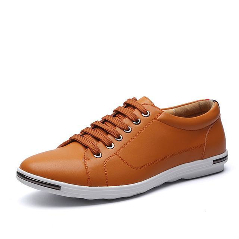 Mens Casual Street Style Lace Up Shoes