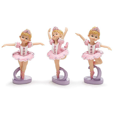 "6"" Ballet Girl Figurines"