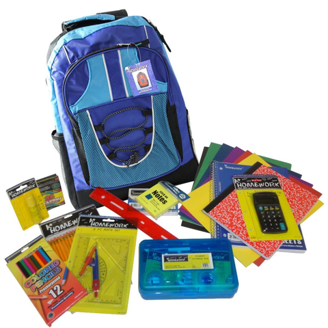 "17"" Pre-filled Discounted Backpack Kit"