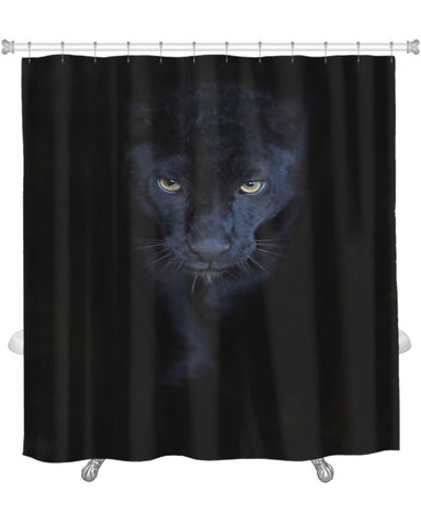 Shower Curtain, Black Panther