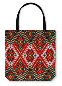 Tote Bag, Ukrainian National Ornament