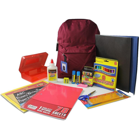 "15""  Primary Kit Pre Filled Backpack"