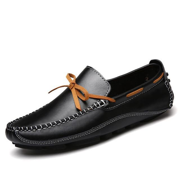 Mens Casual Breathable Leather Loafers
