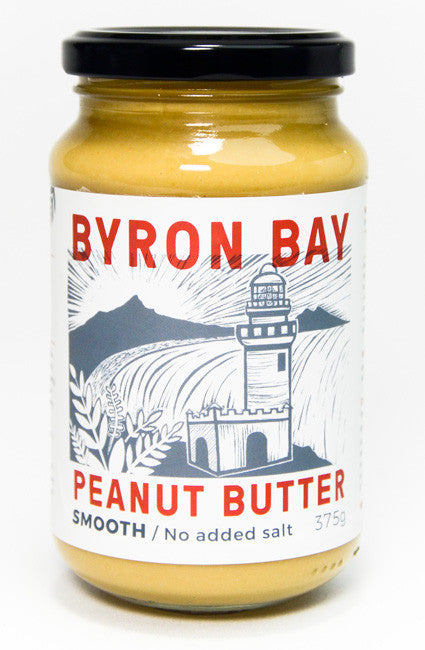 byron bay peanuy butter smooth no added salt