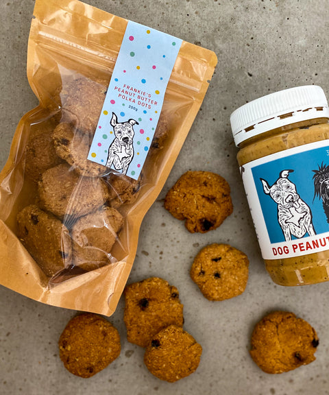 The Byron Bay Peanut Butter Dog Treats