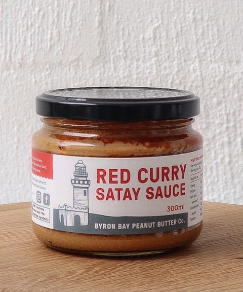 Red Curry Satay Sauce