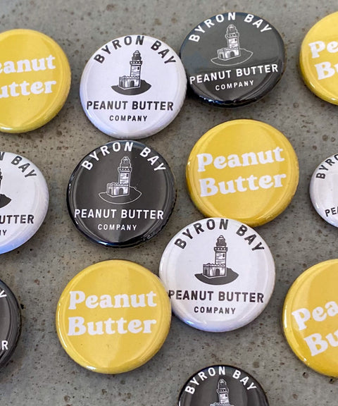 Byron Bay Peanut Butter Buttons