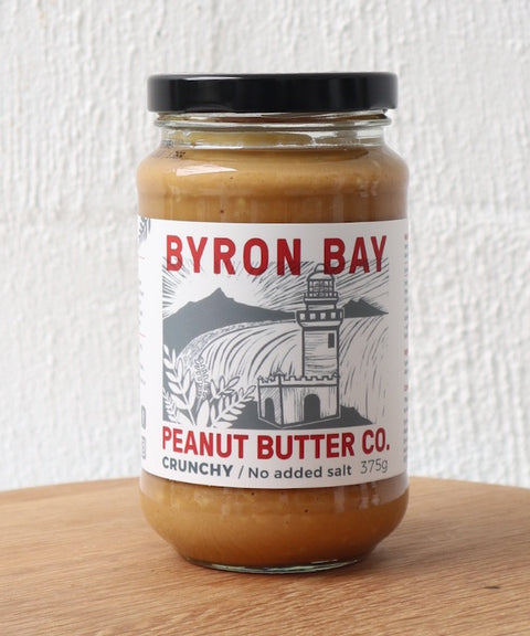 Byron Bay Peanut Butter - Crunchy with No Added Salt