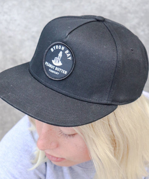 Byron Bay Peanut Butter Cap - Black