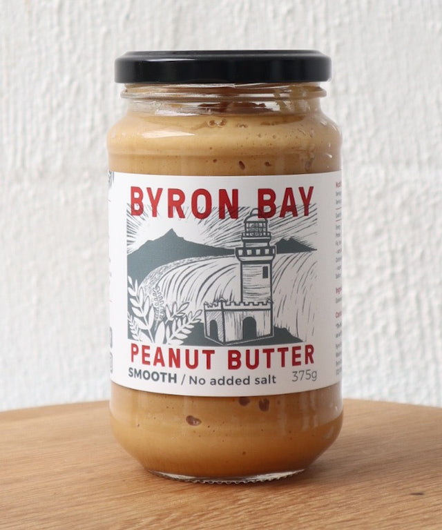 Byron Bay Peanut Butter - Smooth with No Added Salt