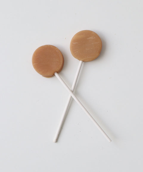 Peanut Butter Lollipops