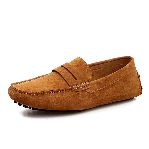 Men's Multicolor Plus Size Casual Leather Shoes