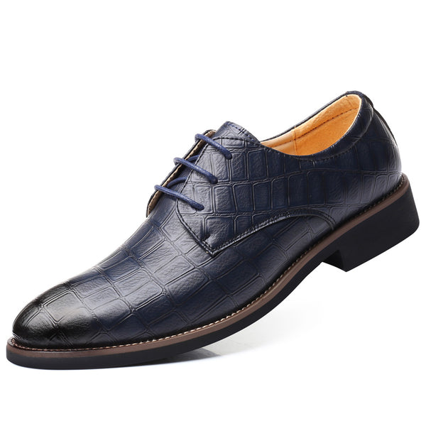 Fashion Big Size Men Lace-up Business Oxford Shoes