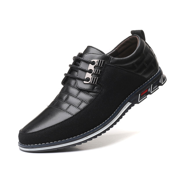 Men's Fashion Leather Oxford Casual Shoes