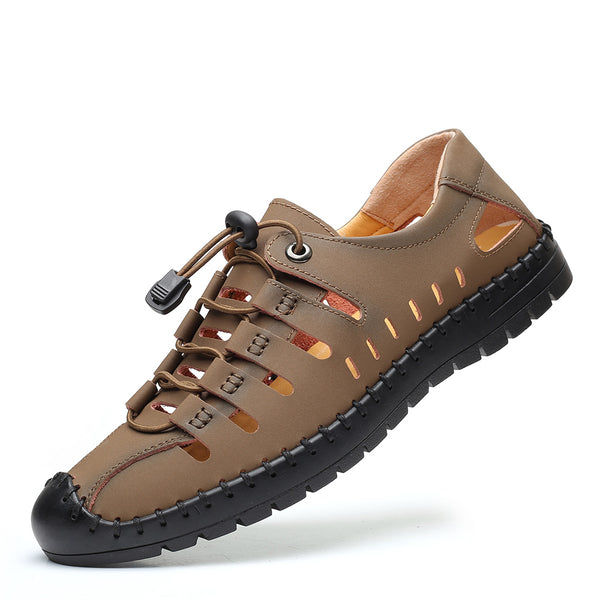 Men's Genuine Leather Fisherman Sandals