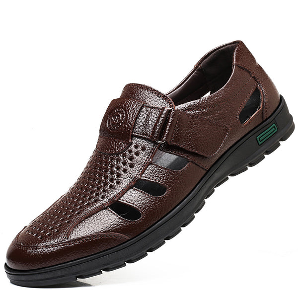 Fermo Men's Genuine Leather Fisherman Sandals