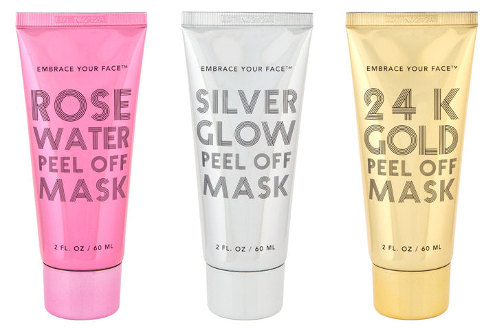 PEEL OFF MASK SET OF 3