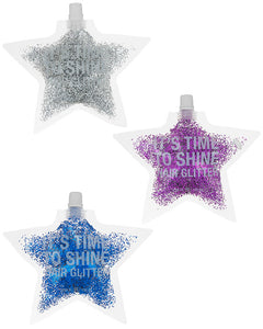HAIR GLITTER ASSORTED - 3 PIECES
