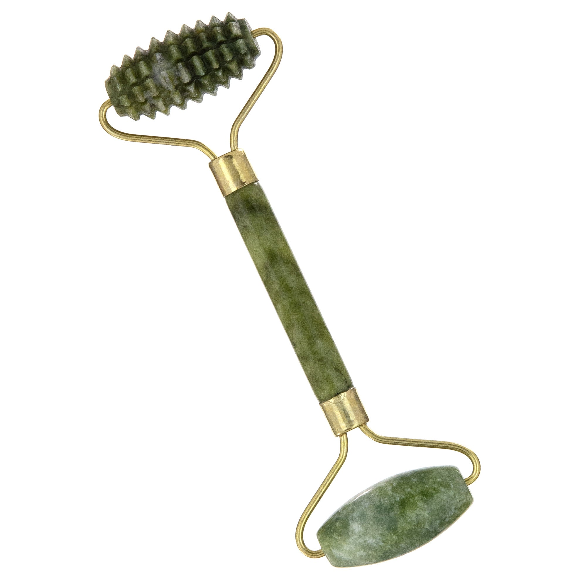 GREEN JADE DUAL-ACTION FACIAL ROLLER