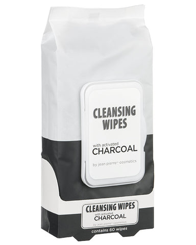 Cleansing Wipes with Activated Charcoal