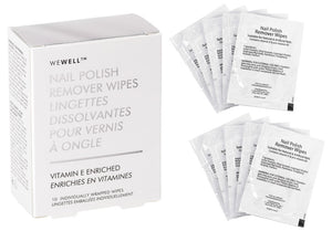 NAIL POLISH REMOVER WIPES BOX 10PC
