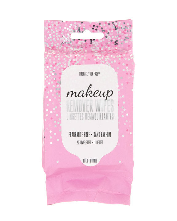 MAKEUP REMOVING WIPES 25CT FRAGRANCE