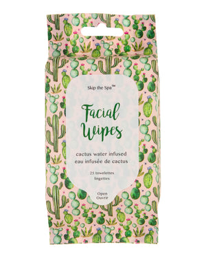 Cactus Water Infused Facial Wipes
