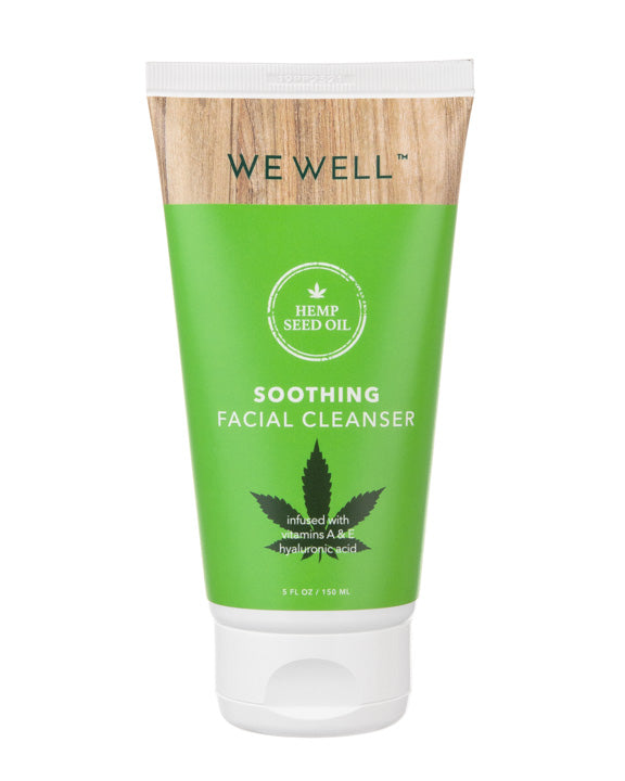 Hemp Seed Oil Soothing Facial Cleanser