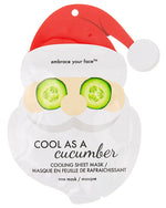 SANTA CUCUMBER FACE MASK