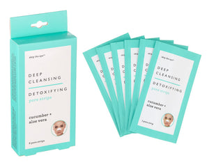 Deep Cleansing & Detoxifying Pore Strips - CUCUMBER + ALOE