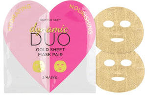 DYNAMIC DUO GOLD SHEET MASK PAIR