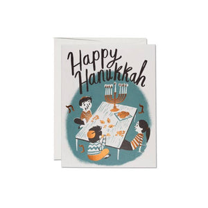 Family Hanukkah - Greeting Card