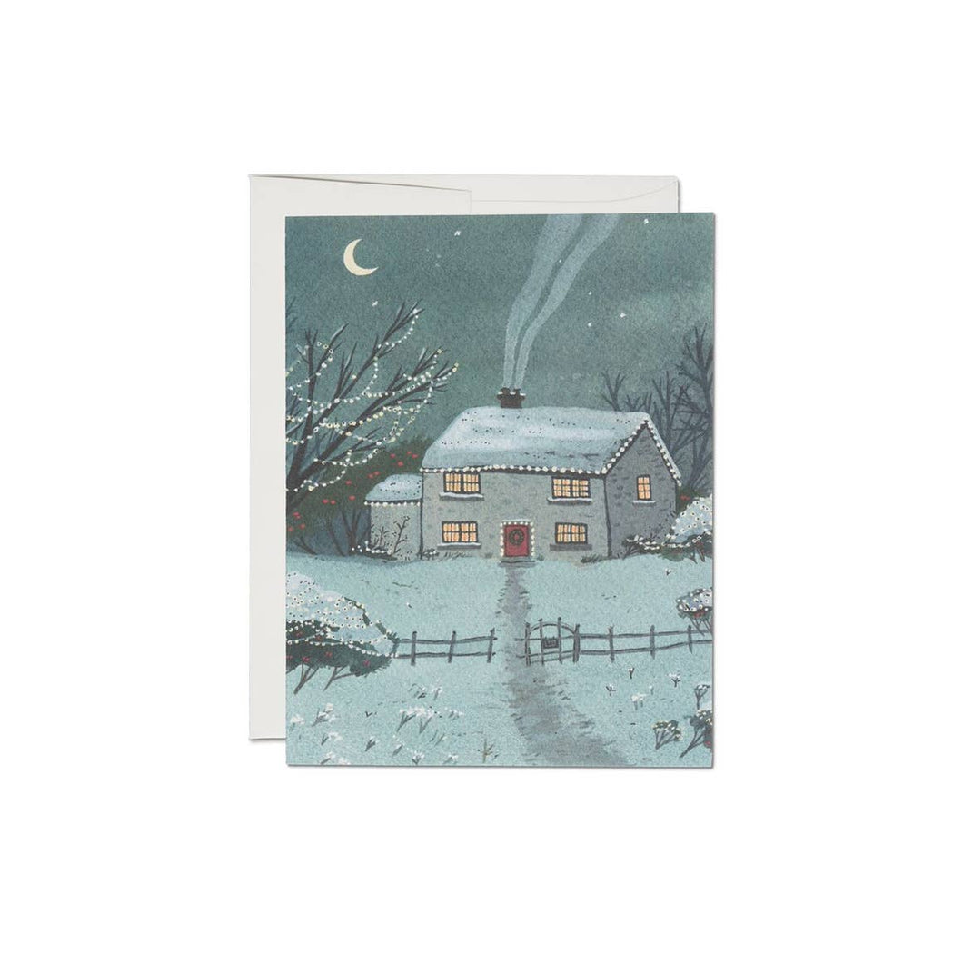 Holiday House - Greeting Card