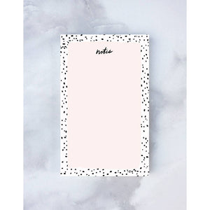 Speckled Notepad